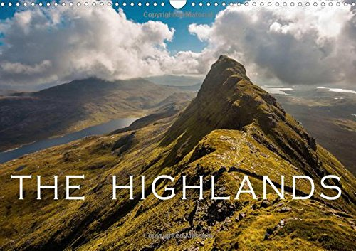 9781325174317: The Highlands 2017: The Beauty of the Scottish Highlands (Calvendo Nature)
