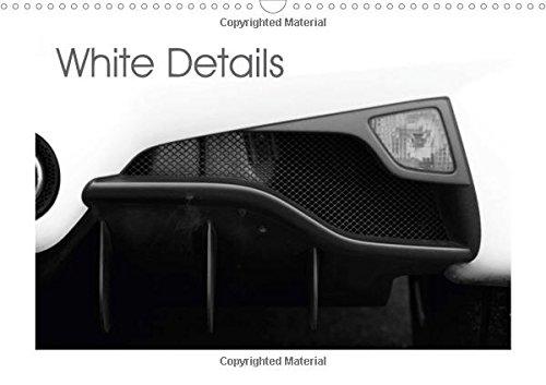 9781325174720: White Details 2017: Details of a Ferrari 358 S (Calvendo Art)