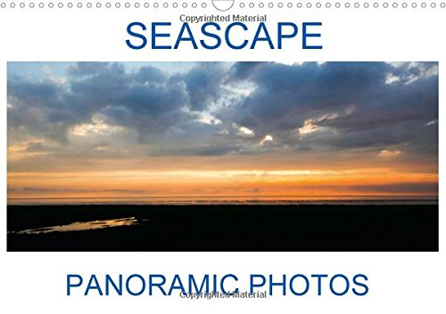 9781325178292: Seascape Panoramic Photos 2017 (Calvendo Nature)
