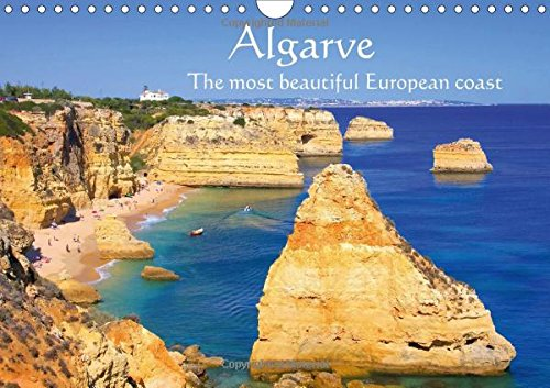 9781325181308: Algarve - The most beautiful European coast (Wall Calendar 2017 DIN A4 Landscape): Some of the wide sandy beaches in Portugal (Monthly calendar, 14 pages ) (Calvendo Places)