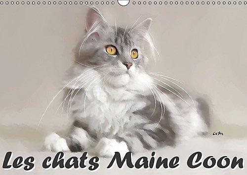 9781325191314: Les Chats Maine Coon 2017: Serie De 12 Tableaux Pour Mettre En Valeur La Beaute Naturelle Des Chats Maine Coon. (Calvendo Animaux) (French Edition)