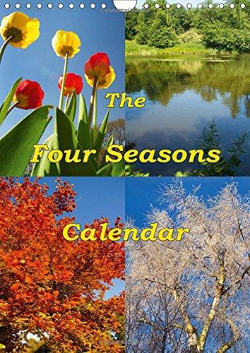 9781325196159: The Four Seasons Calendar 2017: A Calendar Year of Beautiful Things (Calvendo Nature)