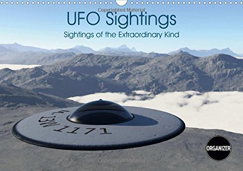 9781325208036: UFO Sightings Sightings of the Extraordinary Kind 2017: Sightings of the Extraordinary Kind 12 Photorealistic Images of Ufos (Calvendo Science)