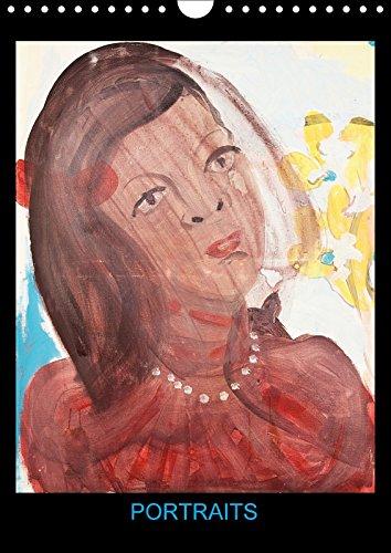 9781325247127 - Hanna Schwingenheuer: Portraits (Calendrier mural 2018 DIN A4 vertical): Peintures acryliques de Hanna Schwingenheuer (Calendrier mensuel, 14 Pages ) (Calvendo Art) - Livre