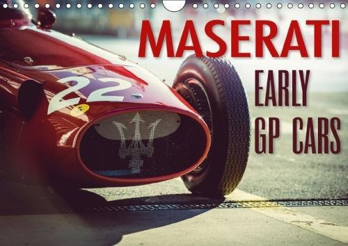 9781325298815 - Johann Hinrichs: Maserati - Early GP Cars (Wall Calendar 2018 DIN A4 Landscape): The early GP race cars of Maserati (Monthly calendar, 14 pages ) (Calvendo Technology) - Livre