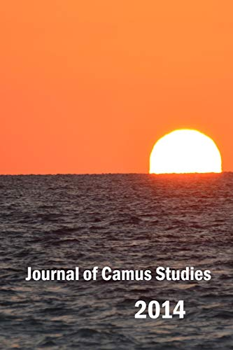 9781326090982: Journal of Camus Studies 2014