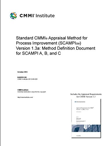 9781326285876: Standard CMMI® Appraisal Method for Process Improvement (SCAMPI)