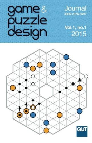 Game & Puzzle Design, vol. 1, no. 1, 2015 (B&W): Cameron Browne