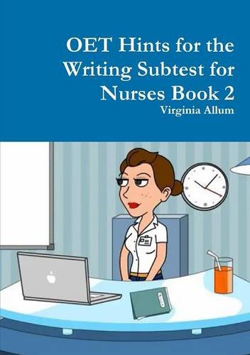 9781326524029: OET Hints for the Writing Subtest for Nurses Book 2
