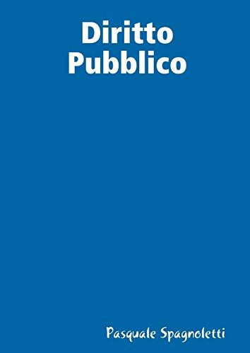 Diritto Pubblico: Pasquale Spagnoletti