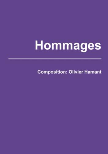 Hommages (Paperback): Olivier Hamant