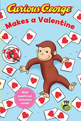 Curious George Makes a Valentine (GLR Level: H A Rey