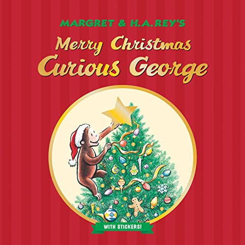 Merry Christmas, Curious George (Paperback): H. A. Rey