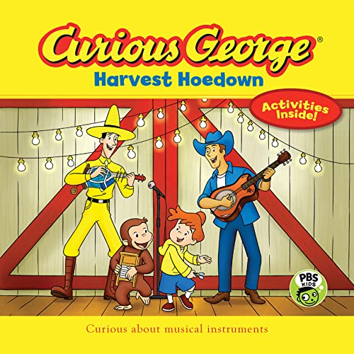 Curious George Harvest Hoedown (Paperback): H. A. Rey