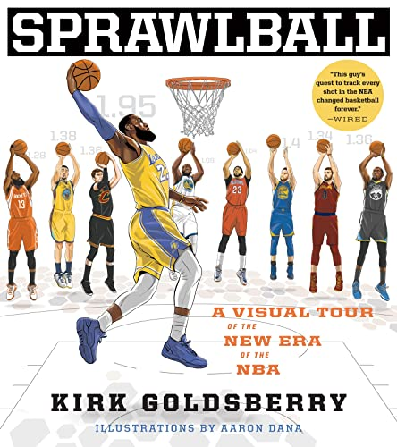 9781328767516: Sprawlball: A Visual Tour of the New Era of the NBA