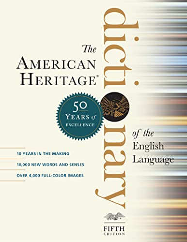 9781328841698: American Heritage Dictionary of the English Language, Fifth Edition, The