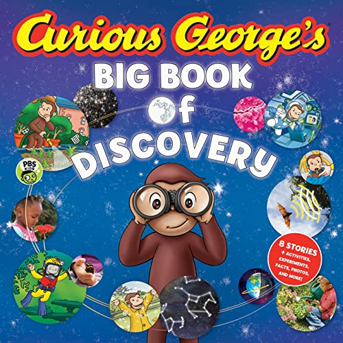 9781328857125: Curious George's Big Book of Discovery