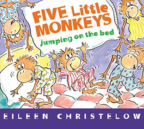9781328884565: Five Little Monkeys Jumping on the Bed (board book) (A Five Little Monkeys Story)