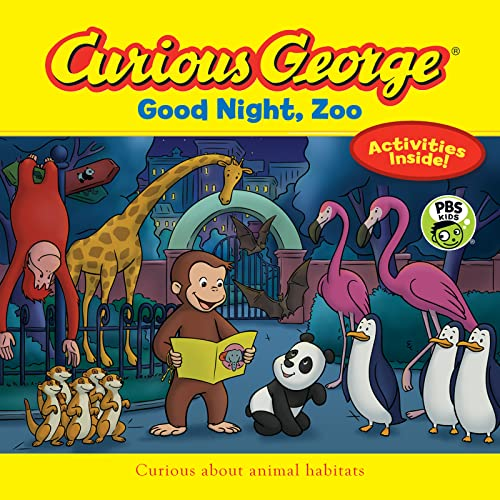 Curious George Good Night, Zoo (Paperback): H A Rey