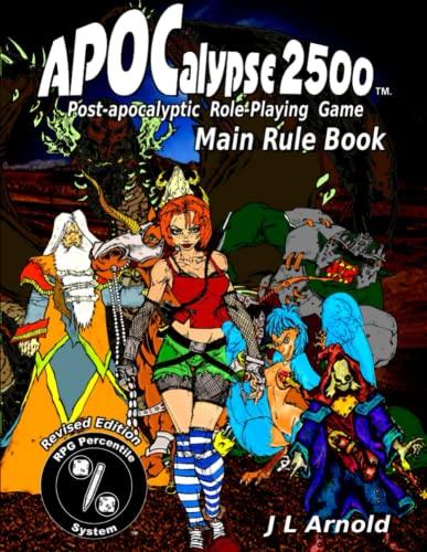 9781329061231: Apocalypse 2500 Main Rule Book