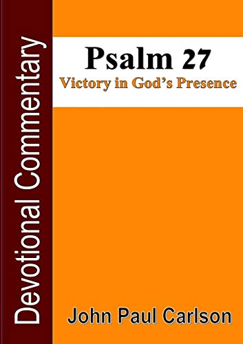 9781329081796: Psalm 27, Victory in God's Presence