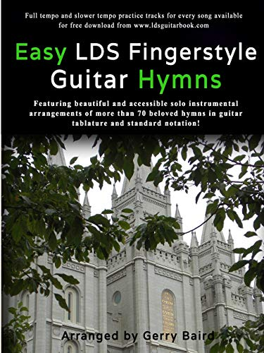 9781329183285: Easy LDS Fingerstyle Guitar Hymns