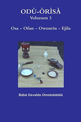 9781329217492: Odù-Òrìsà Volumen 3: Volume 3