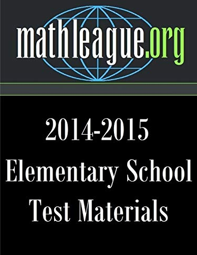 9781329524606: Elementary School Test Materials 2014-2015