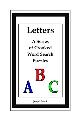 9781329527416: Letters: A Series of Crooked Word Search Puzzles