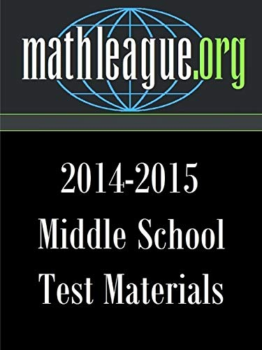 9781329532595: Middle School Test Materials 2014-2015