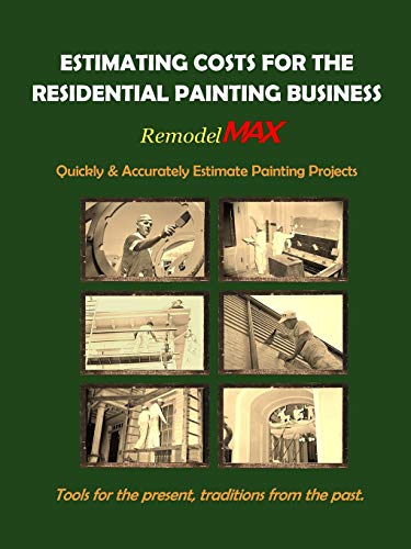 9781329607835: Estimating Costs for the Residential Painting Business