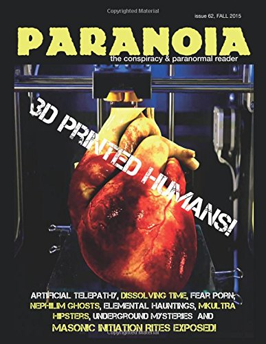 9781329626256: Paranoia: the conspiracy & paranormal reader