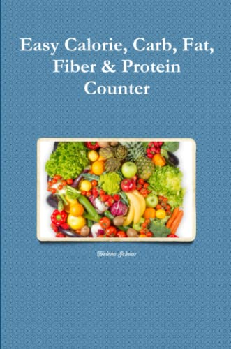 9781329652675: Easy Calorie, Carb, Fat, Fiber & Protein Counter