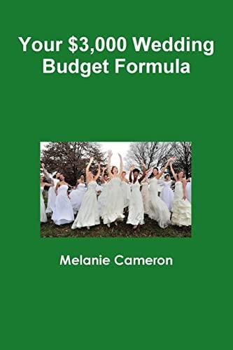 9781329747821: Your $3,000 Wedding Budget Formula