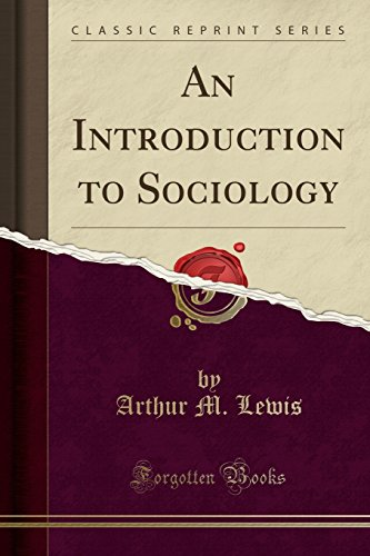 9781330001639: An Introduction to Sociology (Classic Reprint)