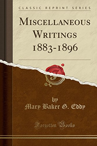 9781330150283: Miscellaneous Writings 1883-1896 (Classic Reprint)