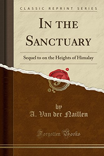 In the Sanctuary: Sequel to on the: A Van Der