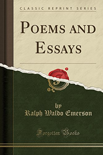 9781330188057: Poems and Essays (Classic Reprint)