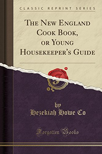 9781330194027: The New England Cook Book, or Young Housekeeper's Guide (Classic Reprint)