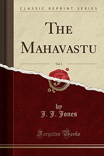 9781330274453: The Mahavastu, Vol. 1 (Classic Reprint)