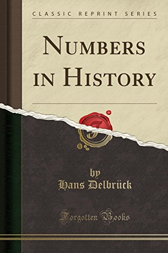 9781330523193: Numbers in History (Classic Reprint)