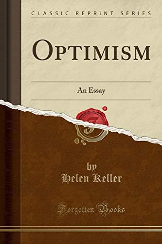 9781330537381: Optimism: An Essay (Classic Reprint)