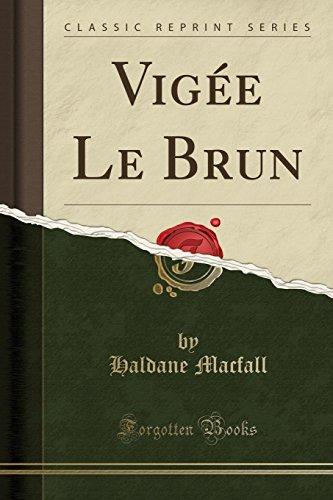 9781330539408: Vigée Le Brun (Classic Reprint)