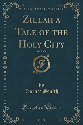 9781330583845: Zillah a Tale of the Holy City, Vol. 2 of 4 (Classic Reprint)