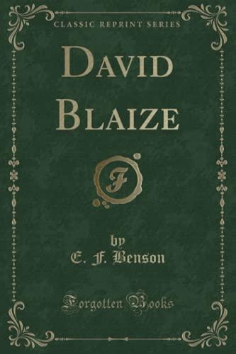 9781330705377: David Blaize (Classic Reprint)