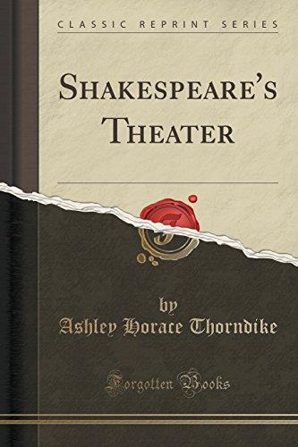 9781330718827: Shakespeare's Theater (Classic Reprint)