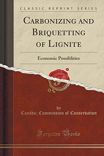 9781330773000: Carbonizing and Briquetting of Lignite: Economic Possiblities (Classic Reprint)