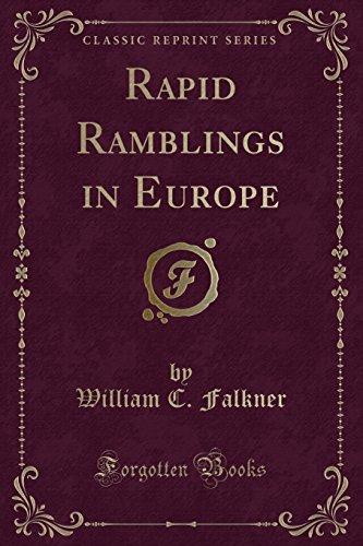 9781330930946: Rapid Ramblings in Europe (Classic Reprint)