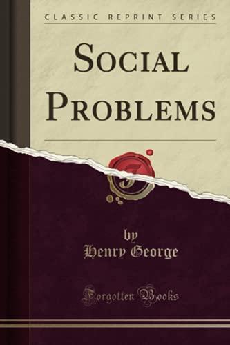 9781331095958: Social Problems (Classic Reprint)