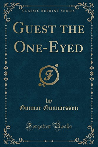9781331279532: Guest the One-Eyed (Classic Reprint)